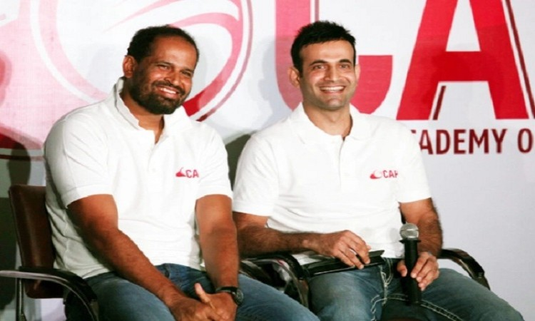 Yususf Pathan launches cricket academy in Delhi