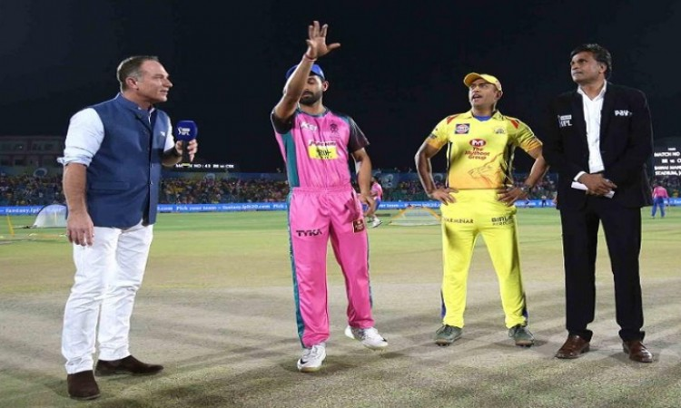 IPL 2018: Chennai opted to bat vs Rajasthan