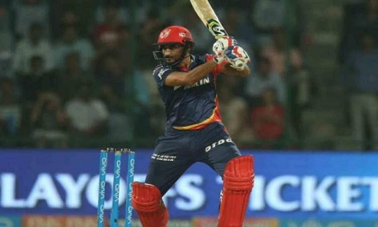DD ने विजय शंकर औऱ हर्षल पटेल की तेज पारी के बल पर 5 विकेट पर 162 रन बनाए Images