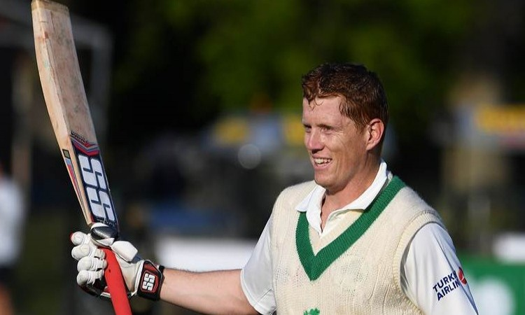 Ireland's Kevin O'Brien enters ICC Test rankings