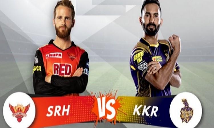 सनराइजर्स हैदराबाद ने टॉस जीतकर पहले बल्लेबाजी करने का फैसला किया UPDATE Images