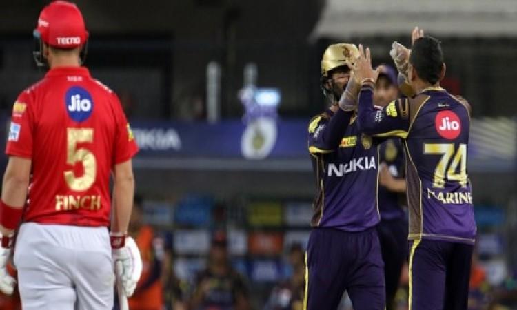 केकेआर ने किंग्स इलेवन पंजाब को 31 रनों से हराया, पॉइंट्स टेबल में पहुंचे नंबर 4 पर Images