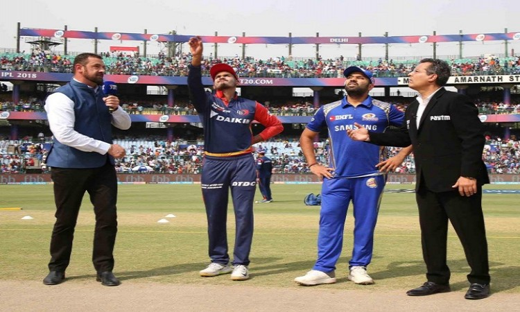 IPL 2018: Delhi opted to bat against Mumbai