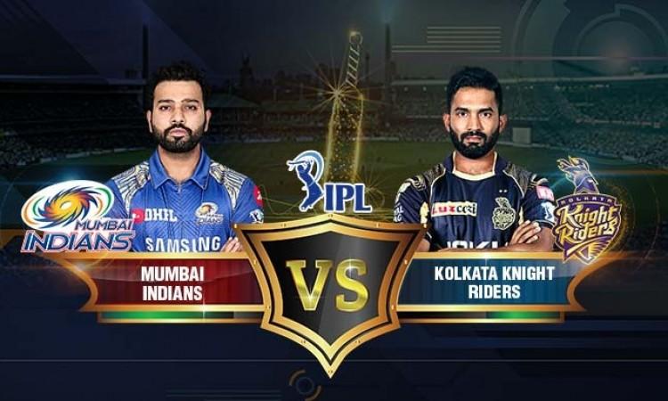 IPL 2018: Kolkata elected to field against Mumbai