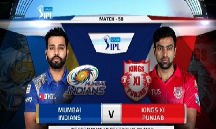किंग्स इलेवन पंजाब की टीम ने टॉस जीतकर पहले फील्डिंग करने का फैसला किया UPDATE Images