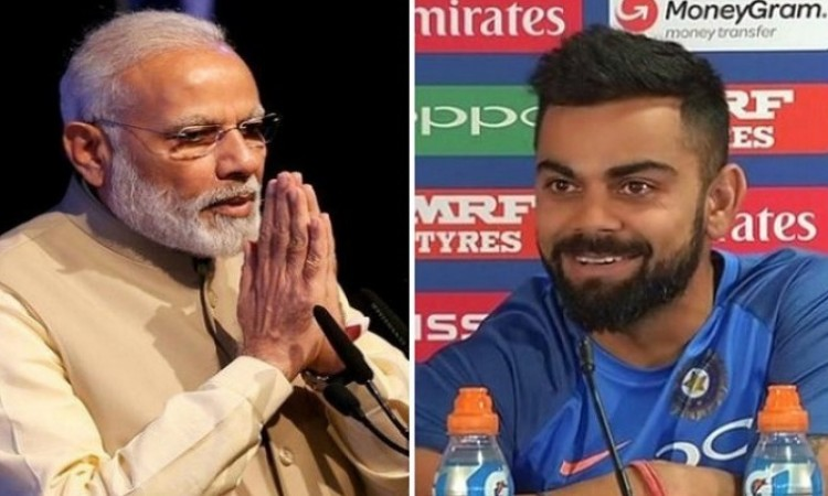 Breaking News: Narendra Modi accepts fitness challenge of Virat Kohli