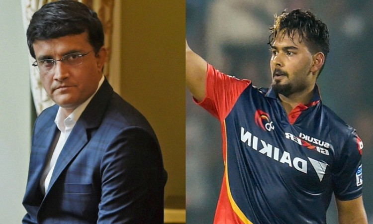 Rishabh Pant now needs to be consistent, will soon play for India: Ganguly Images