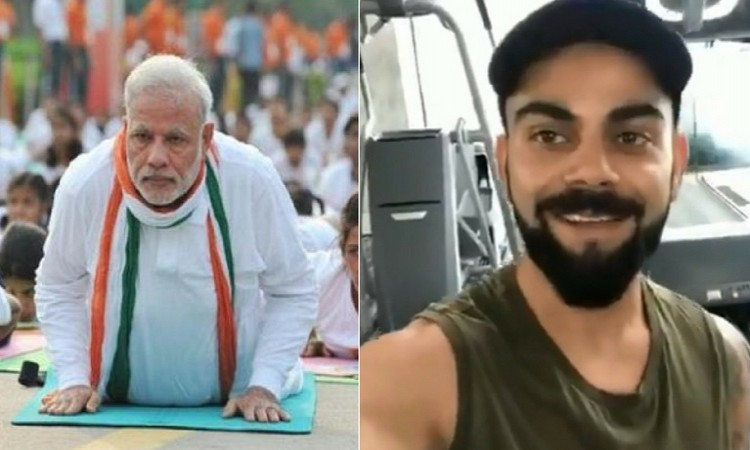 Virat Kohli Tags Narendra Modi for Fitness Challenge, PM Accepts