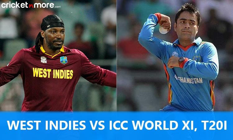 West Indies vs ICC World XI Full Squads