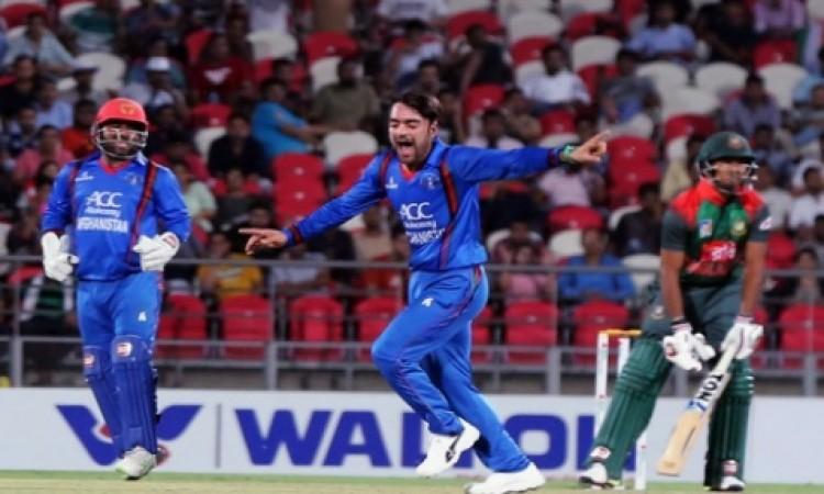 रोमांचक मैच में अफगानिस्तान ने बांग्लादेश को 1 रन से हराया, आखिरी गेंद पर इस तरह से मिली जीत Images