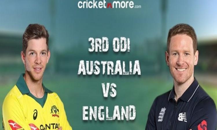 तीसरा वनडे: ऑस्ट्रेलिया ने टॉस जीतकर पहले फील्डिंग करने का फैसला, इंग्लैंड टीम में दिग्गज की वापसी I