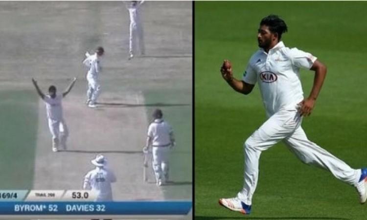 VIDEO इस गेंदबाज ने काउंटी क्रिकेट में करी ऐसी गेंदबाजी जिसे देख पूरा क्रिकेट वर्ल्ड हैरान Images