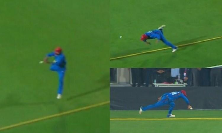 आखिरी गेंद पर हुआ यह गजब का कारनामा, अफगानिस्तान की टीम को मिल गया नया जोंटी रो़ड्स VIDEO Images