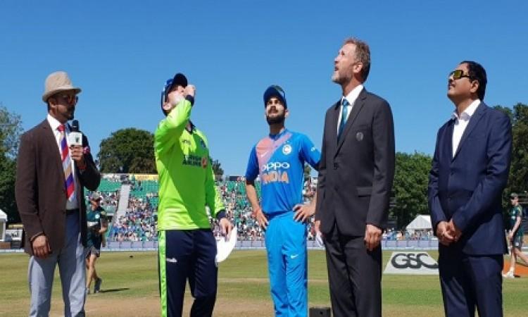 दूसरे टी-20 में आय़रलैंड ने जीता टॉस,  भारत को पहले बल्लेबाजी के लिए आमंत्रित किया BREAKING Images