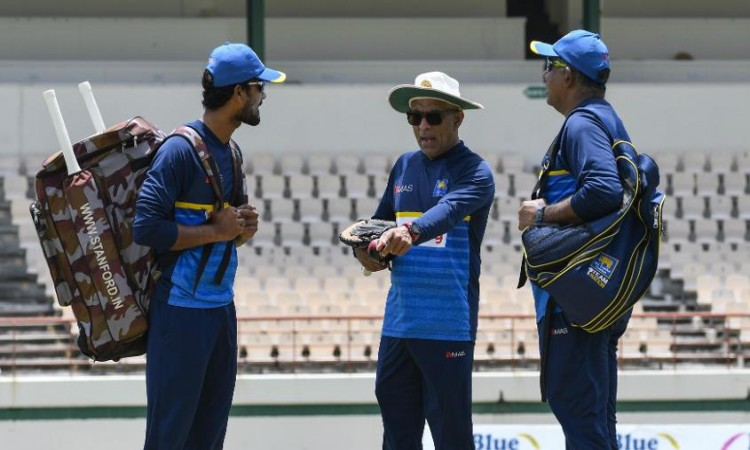 Sri Lanka captain, coach and manager admit to breaching ICC Code of Conduct Images