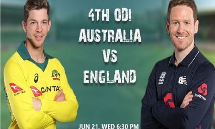 इंग्लैंड बनाम ऑस्ट्रेलिया चौथा वनडे: यहां होगा मैच का लाइव प्रसारण, जानिए Images