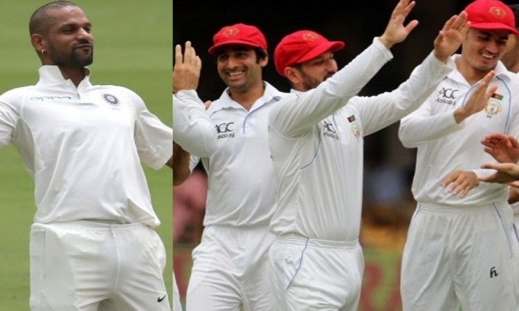 India post 347/7 on Day 1 in test vs afghanistan