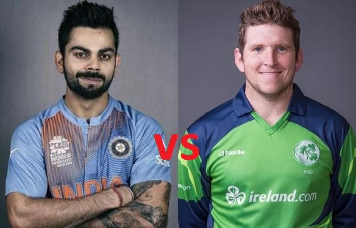 India vs Ireland teams and schedule