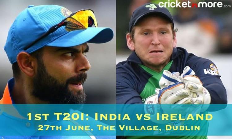 भारत बनाम आय़रलैंड: पहले टी- 20 के लिए संभावित प्लेइंग इलेवन की घोषणा, जानिए Images