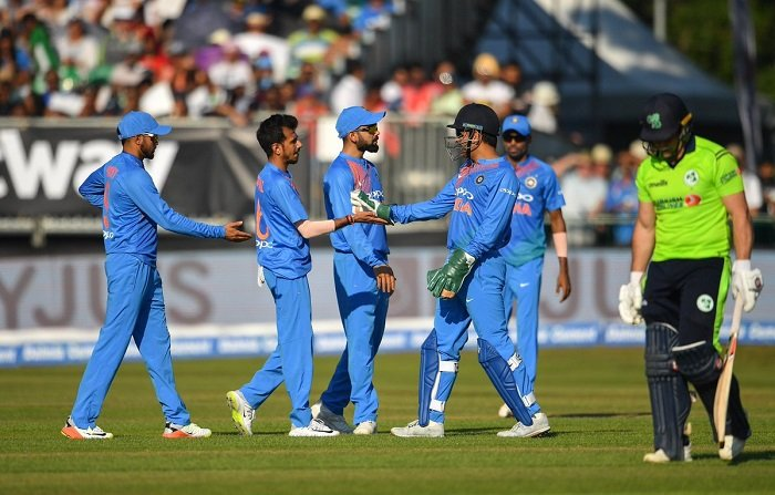 India beat Ireland by 76 runs in first t20i