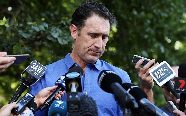 James Sutherland stands down as Cricket Australia's chief executive