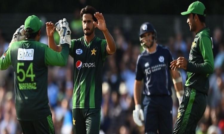 स्कॉटलैंड के खिलाफ पहले टी- 20 में पाकिस्तान के बल्लेबाजों का धमाल, 48 रन से मिली जीत Images