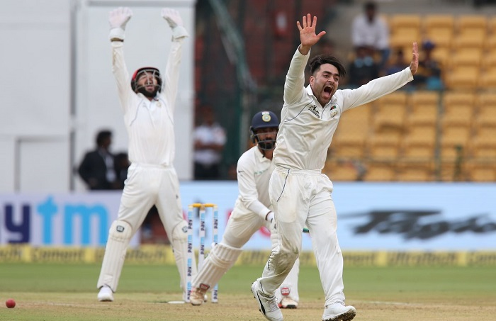 Rashid Khan concede 150 plus runs in country's debut Test match