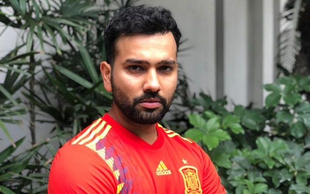 Rohit Sharma will be cheering for Spain in FIFA World Cup 2018