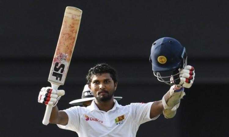सेंट लूसिया टेस्ट में श्रीलंका की टीम वेस्टंडीज पर बढ़त बनानें की ओर अग्रसर Images
