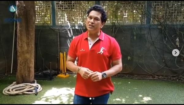 Sachin Tendulkar's New Kit up Challenge Where he Nominates Virat Kohli