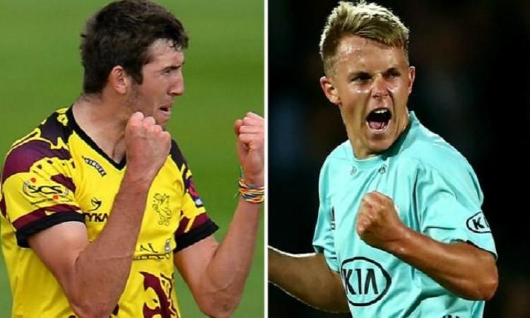 Sam Curran and Craig Overton  added to England ODI squad against Australia