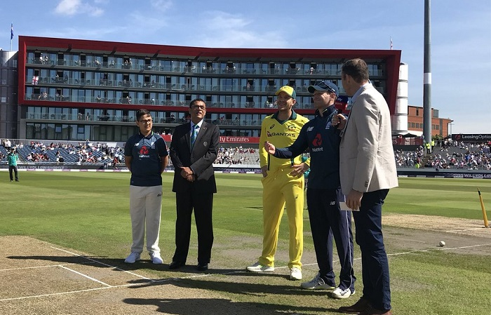 australia opt to bat first against england in fifth odi