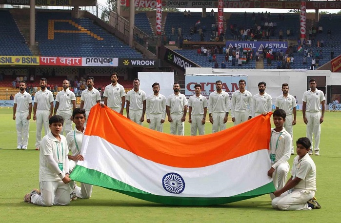 This is the first ever Test match hosted on Indian soil in the month of June
