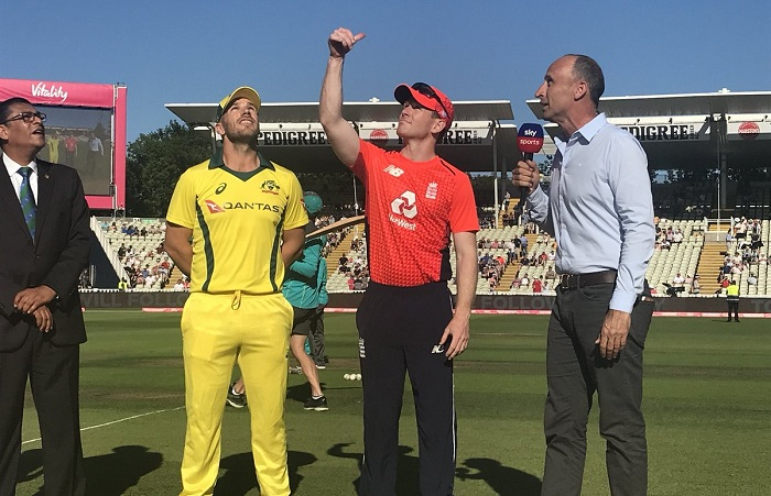 Australia have won the toss and have opted to field vs England in only t20i