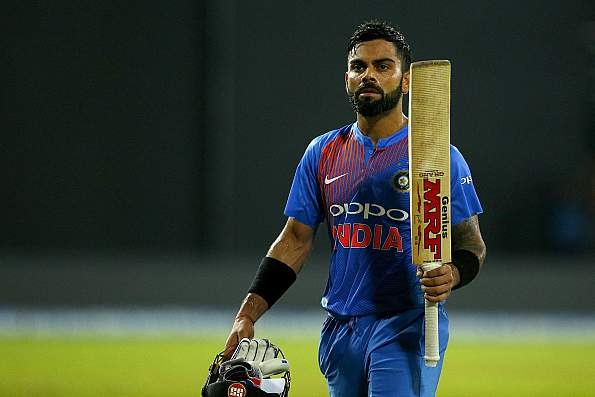 17 runs needed by Virat Kohli to reach the 2000 run mark