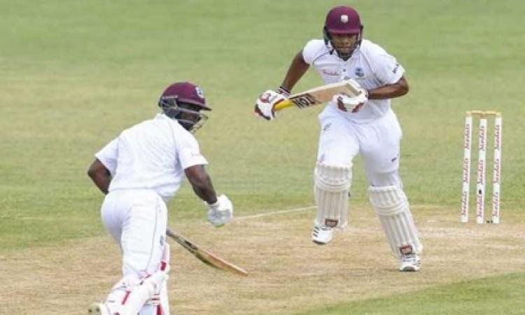 सेंट लूसिया टेस्ट में वेस्टइंडीज की श्रीलंकाई टीम पर पकड़ मजबूत Images