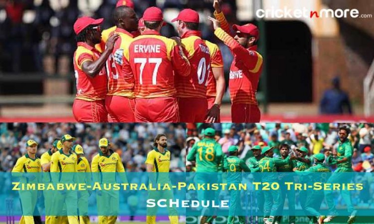Zimbabwe-Australia-Pakistan T20 Tri-Series