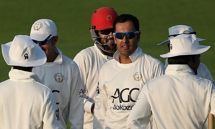 India got all out for 474 against Afghanistan in debut test