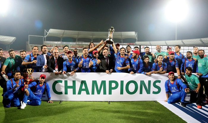 Afghanistan create world record,winning a T20I series 3-0
