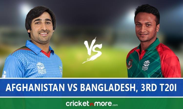 Afghanistan vs Bangladesh 3rd T20I Live