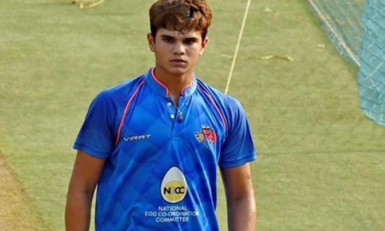 टीम इंडिया में फिर से दिखेगा तेंदुलकर का धमाल, अर्जुन तेंदुलकर भारतीय टीम में हुए शामिल Images