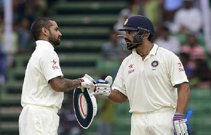 Dhawan, Vijay moved up the ladder in the ICC Test rankings
