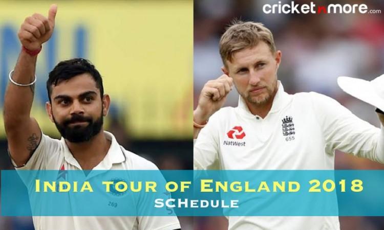 जानिए भारत के इंग्लैंड दौरे का पूरा शेड्यूल, भारतीय समय के साथ और कहां होगा लाइव टेलीकास्ट Images
