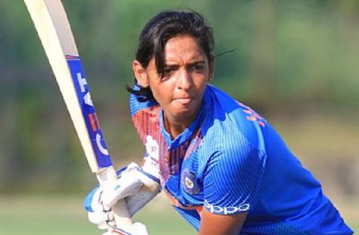harmanpreet kaur half century hel india women to post 11 runs in asia cup final