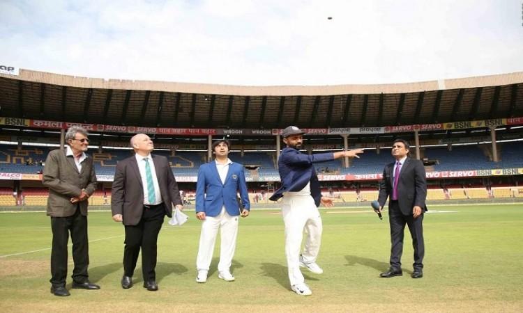 IND vs AFG: India opt to bat in Afghanistan's debut Test