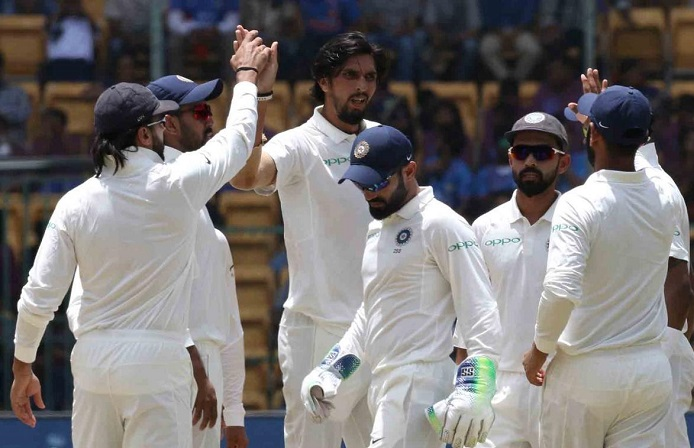 india beat afghanistan by an innings & 262 runs