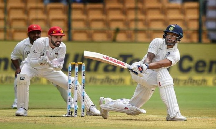 Ind vs Afgh Test: India post 347/6 at stumps on Day 1