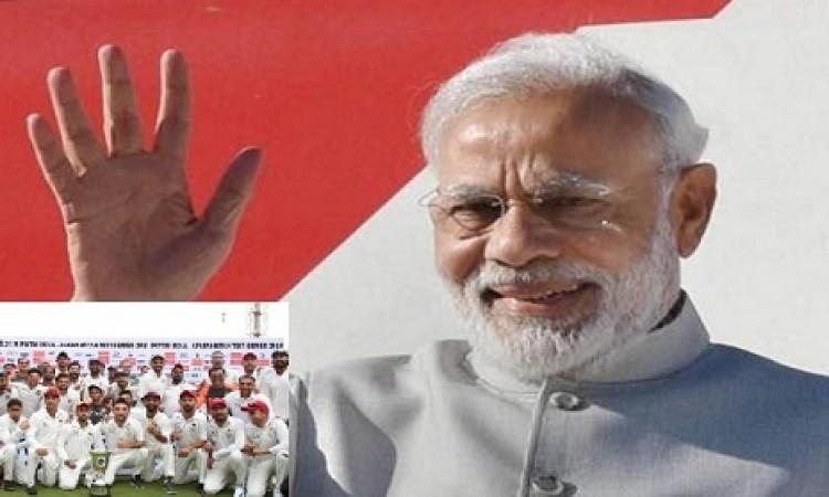 अफगानिस्तान के साथ टेस्ट में खेल भावना दिखाने पर प्रधानमंत्री हुए गदगद, भारतीय टीम के लिए कही खास बा