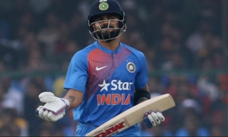 झटका, विराट कोहली की फॉर्म हुई बेरंग, दूसरे टी- 20 में भी सस्ते में निपटा लिए गए Images
