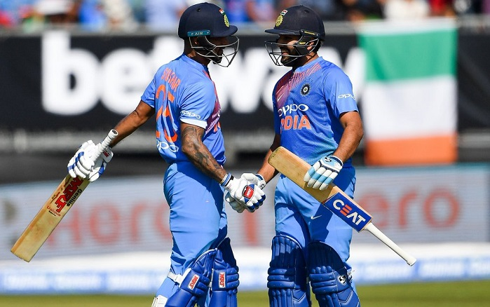tenth time India scored 200-run score in T20I